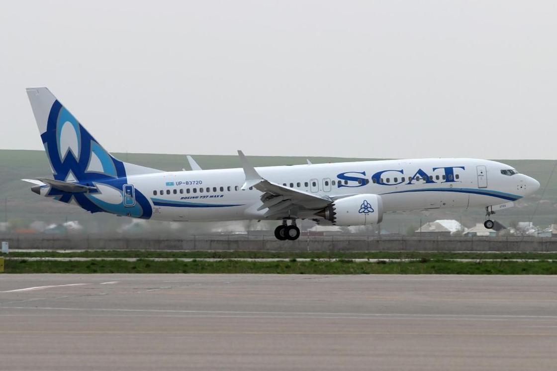 Казахстан приостановил полеты Boeing 737 MAX