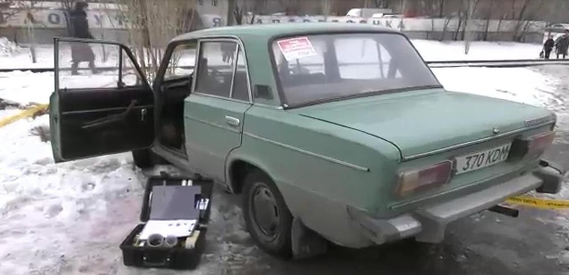 Пьяный мужчина угнал автомобиль в Уральске (видео)