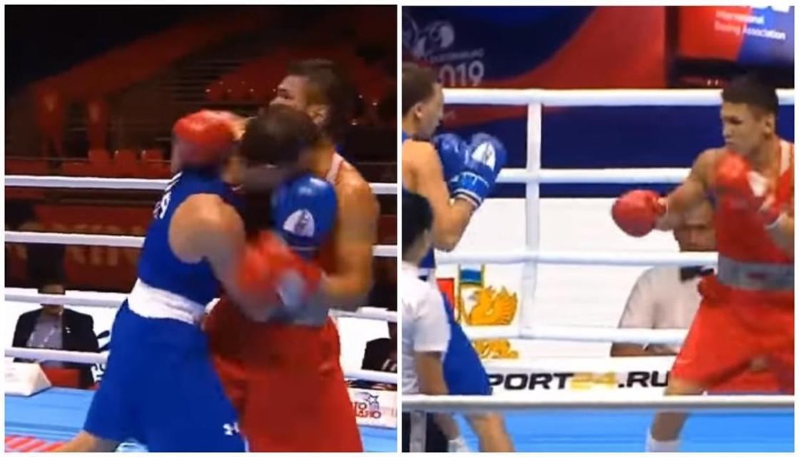 Чемпион Азии из Казахстана побил американца на ЧМ в России (видео)