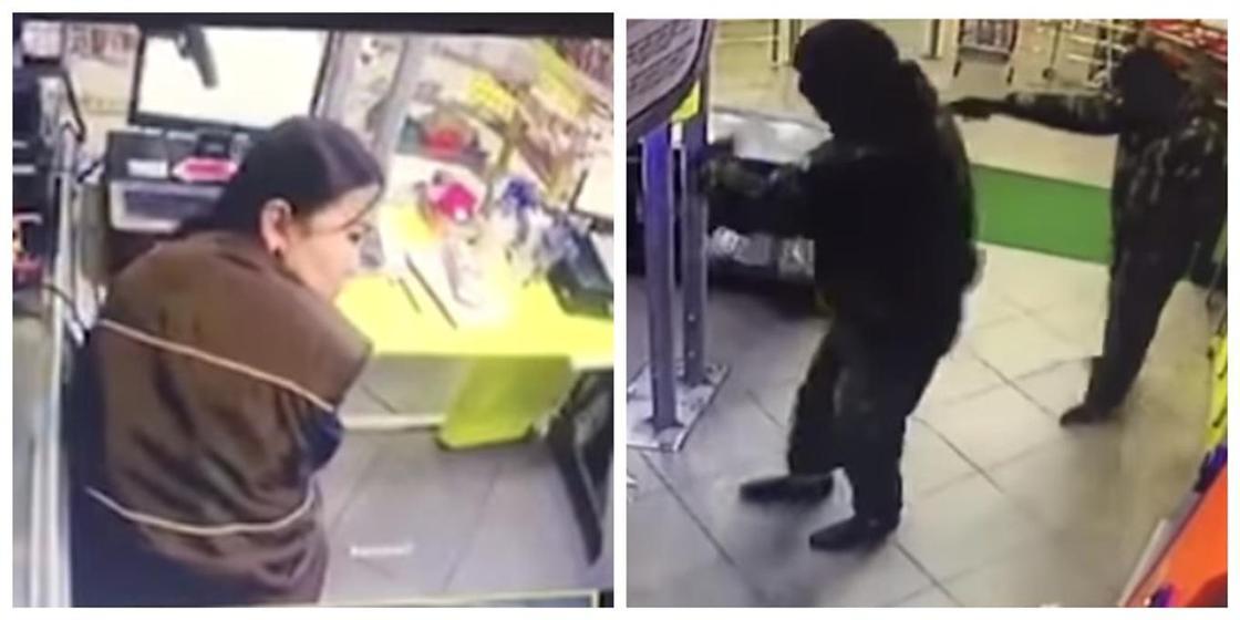 Бішкекте супертмаркетті тонаған ұрылар іздестірілуде (видео)