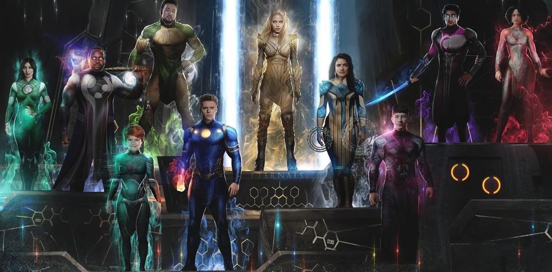 Супергерои из вселенной Marvel