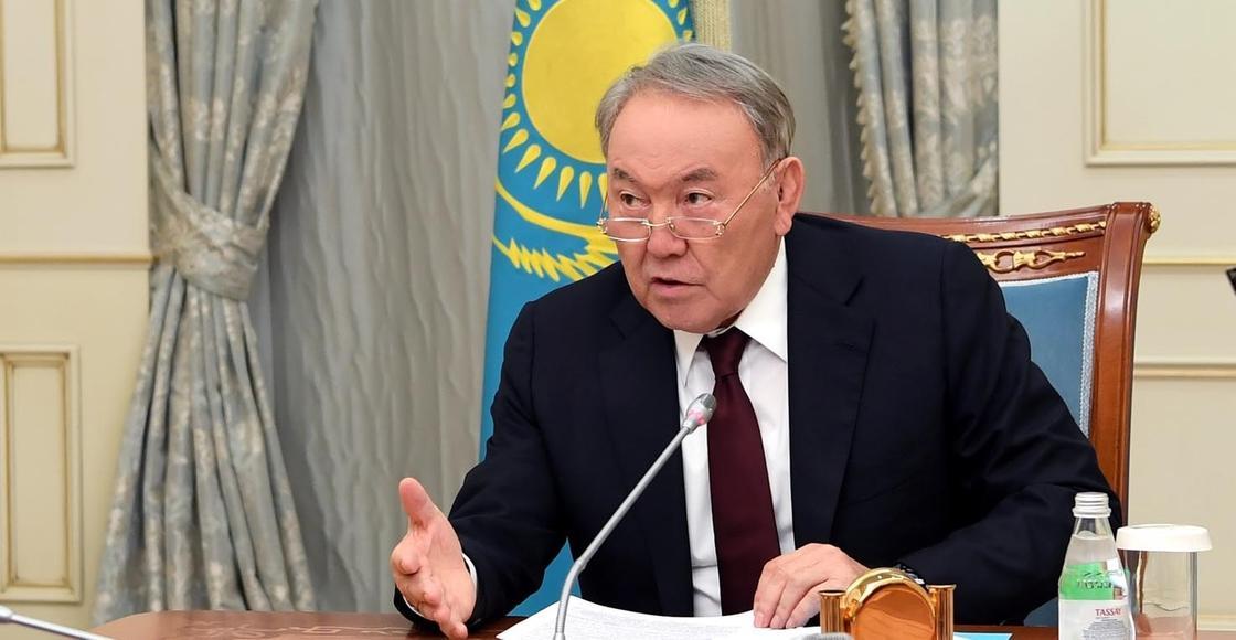 Назарбаев встретился с генпрокурором и главой МВД