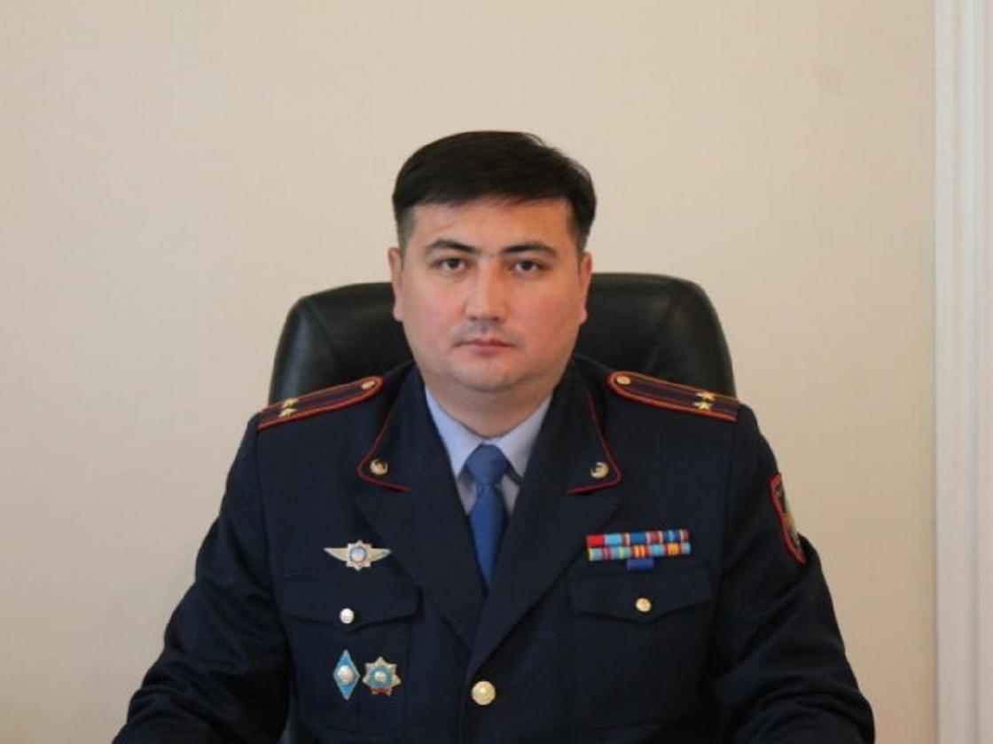 Умер болевший коронавирусом начальник полиции Усть-Каменогорска