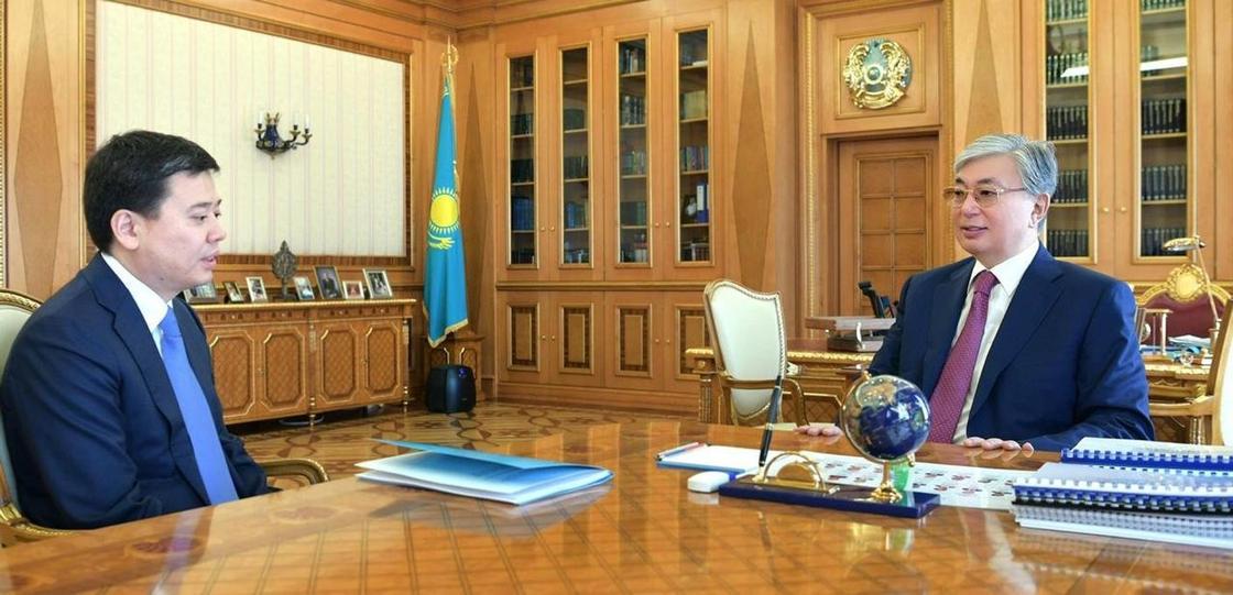 Президент Әділет министрі Марат Бекетаевты қабылдады