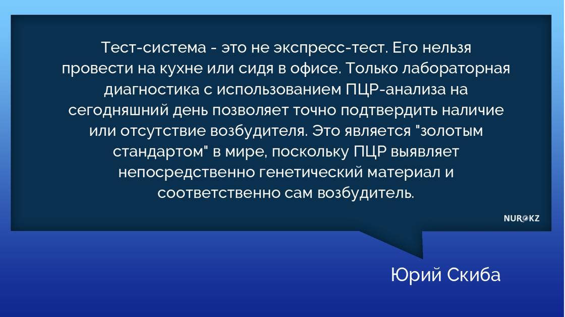 Когда начнется производство казахстанских тестов на коронавирус