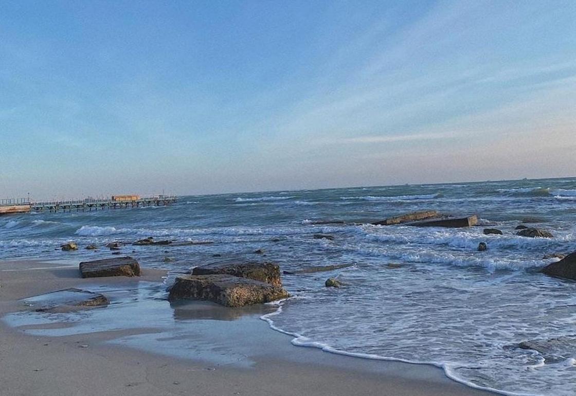 Каспийское море в Актау
