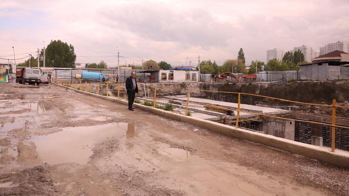 Когда завершится пробивка улиц Ауэзова, Абая и Назарбаева