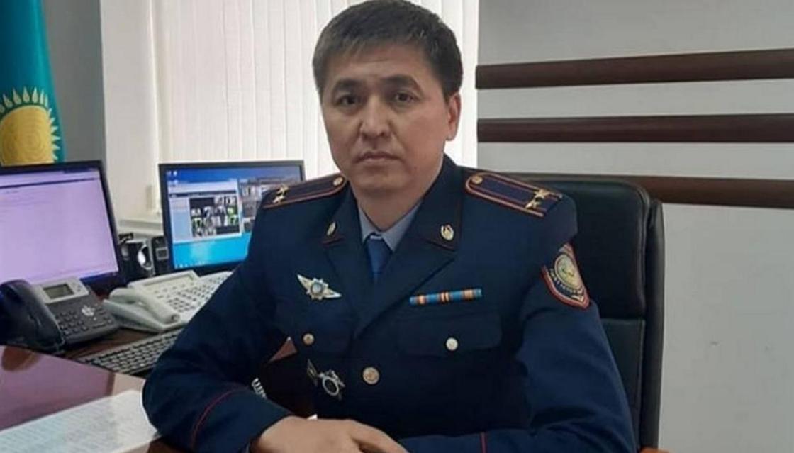 Нового начальника управления полиции назначили в Жанаозене