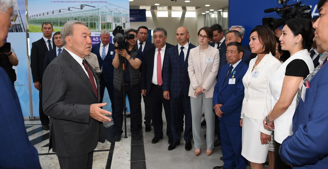 «Атамекен» ҰКП Нұрсұлтан Назарбаевке алғыс білдірді