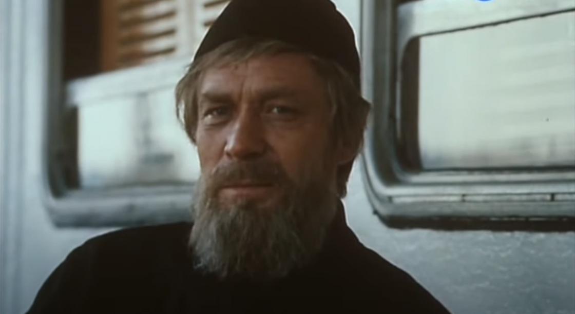Кадр из фильма по произведению Лескова «Очарованный странник»
