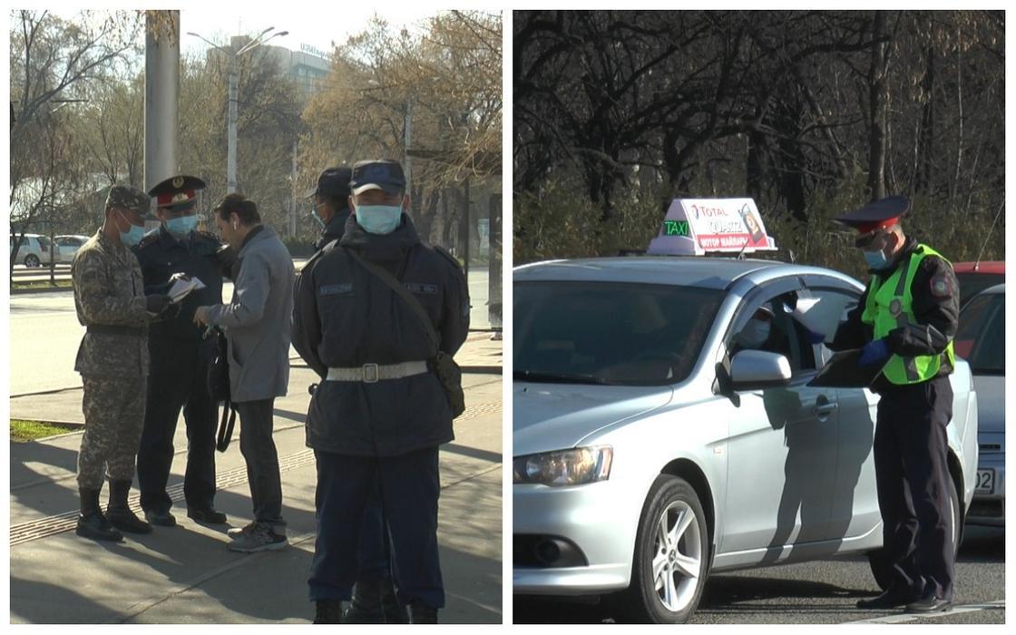 Радушно о работе полицейских в период ЧП отзываются казахстанцы