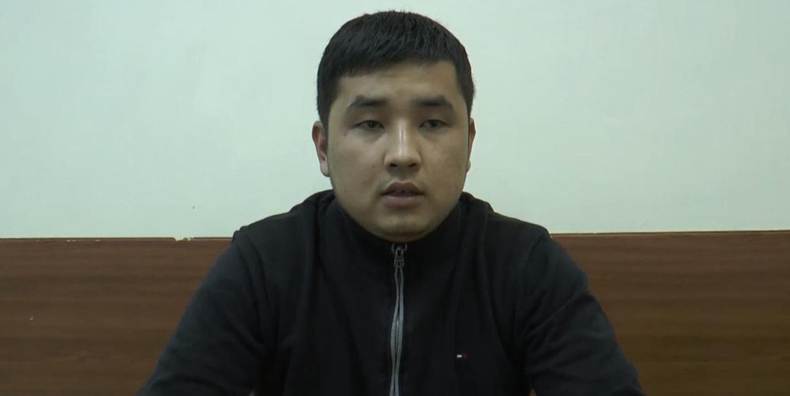 Водитель, сбивший полицейского во время ночных беспорядков в Алматы, взят под стражу