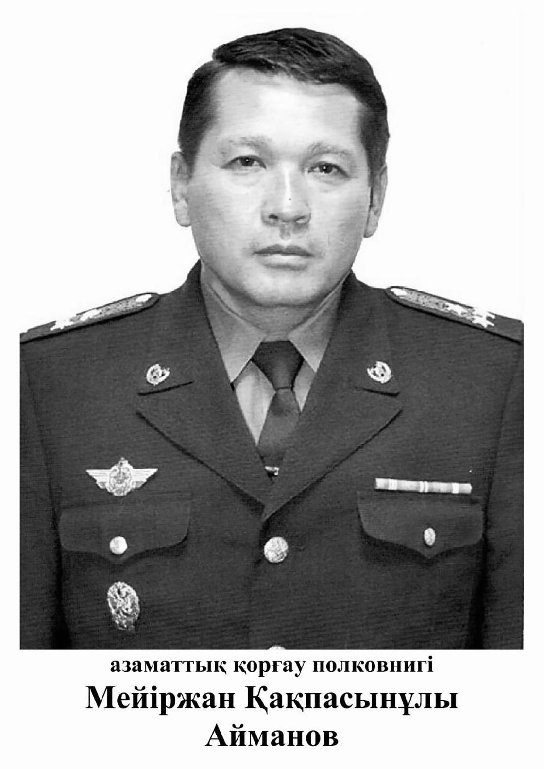 Меиржан Айманов