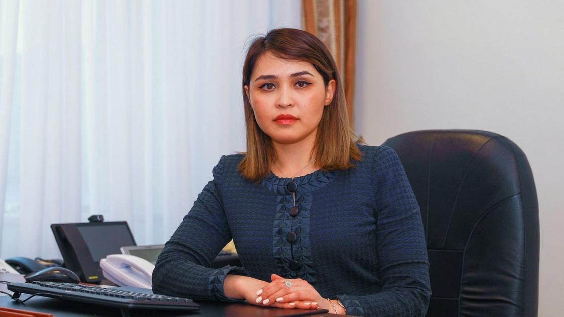 """Стипендию """"Болашак"""" присудили вице-министру Мадине Жунусбековой"""