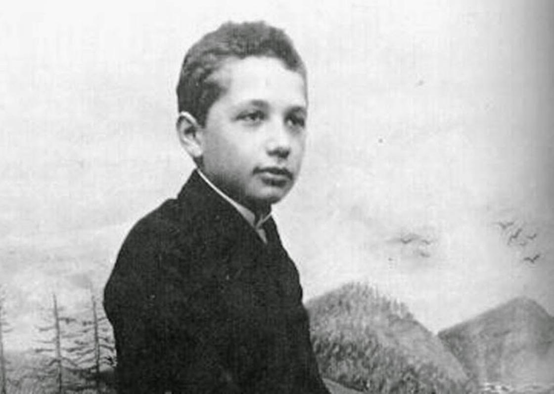 Эйнштейн в детстве