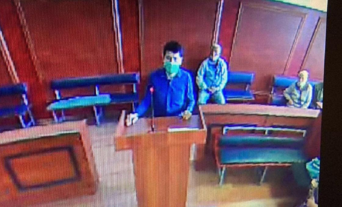 Пострадавший полицейский выступил в суде