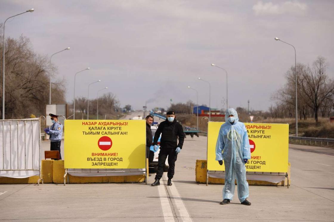 Поселок, где выявили 10 человек с COVID-19, закрывают на карантин в Кызылординской области
