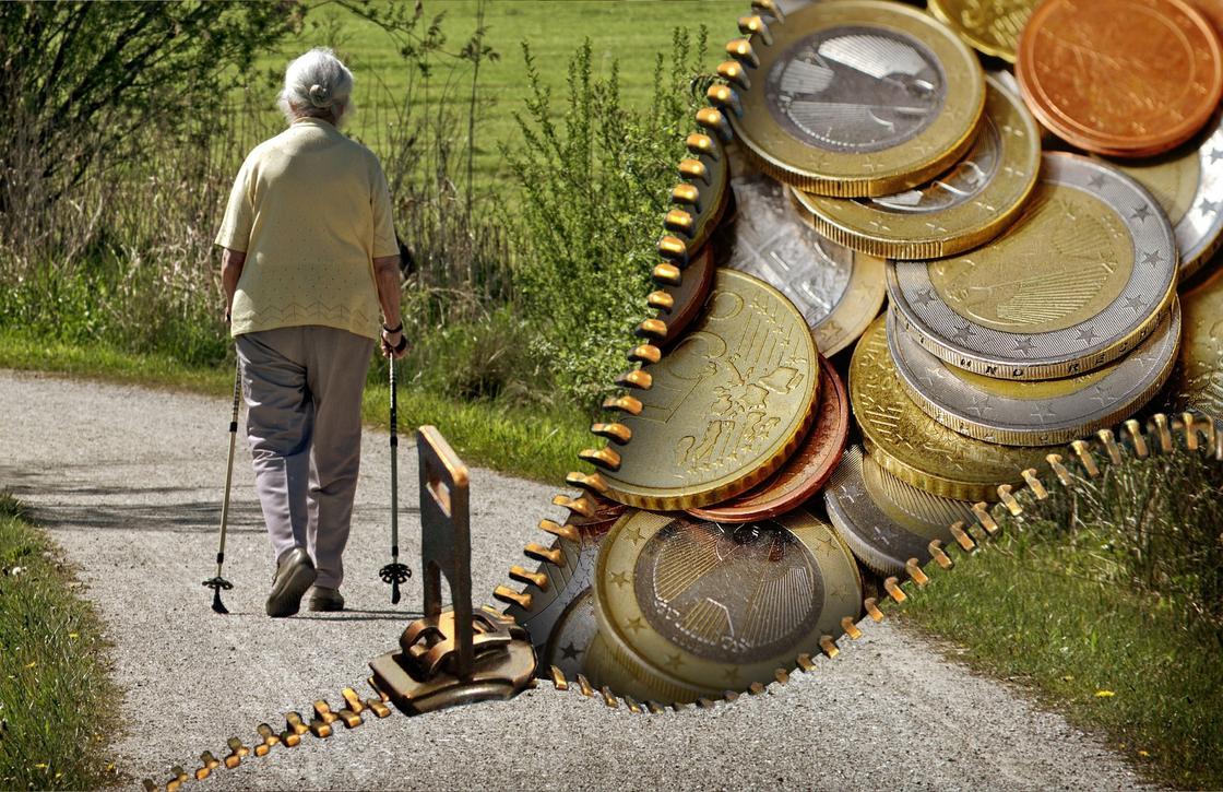 Какая часть пенсии состоит из накоплений в ЕНПФ