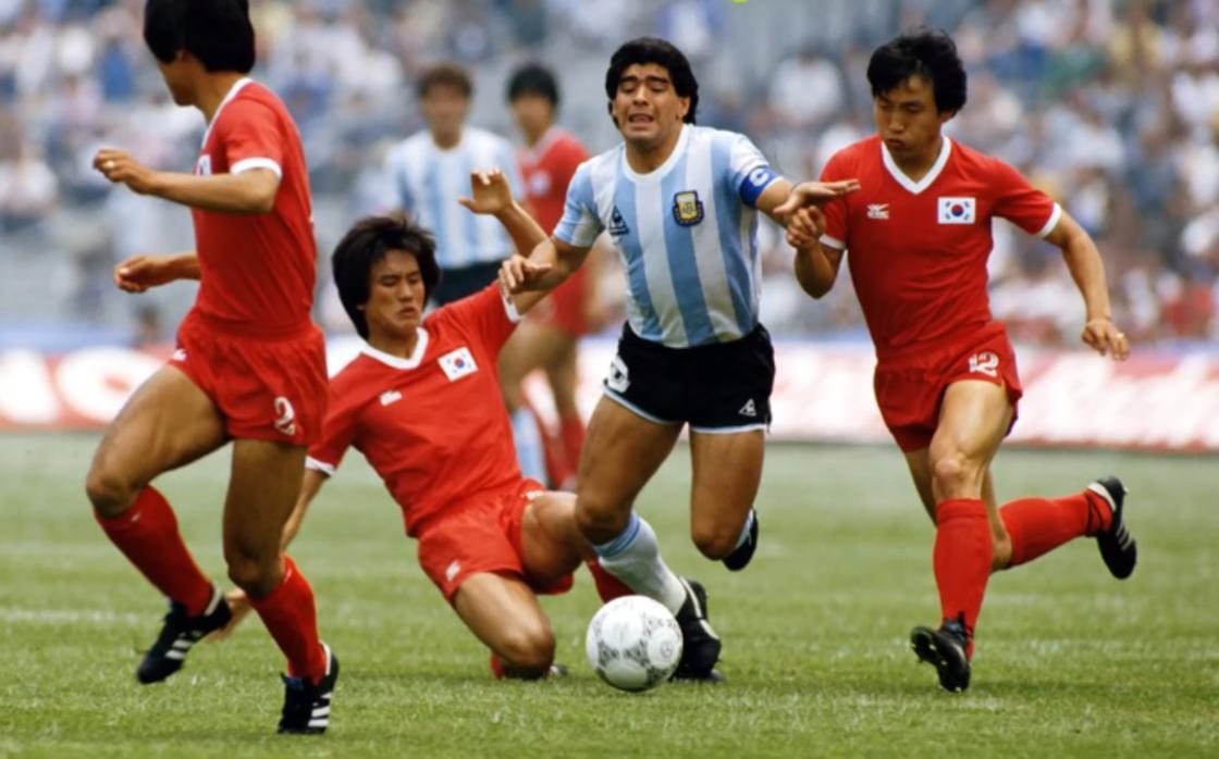 Диего Марадона в игре