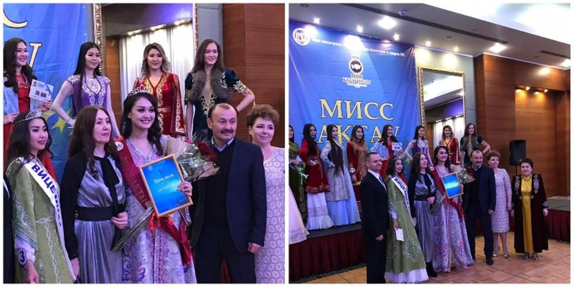 Студентка из Актау стала победительницей конкурса «Мисс Актау-2018»