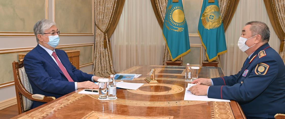 Касым-Жомарт Токаев и Ерлан Тургумбаев