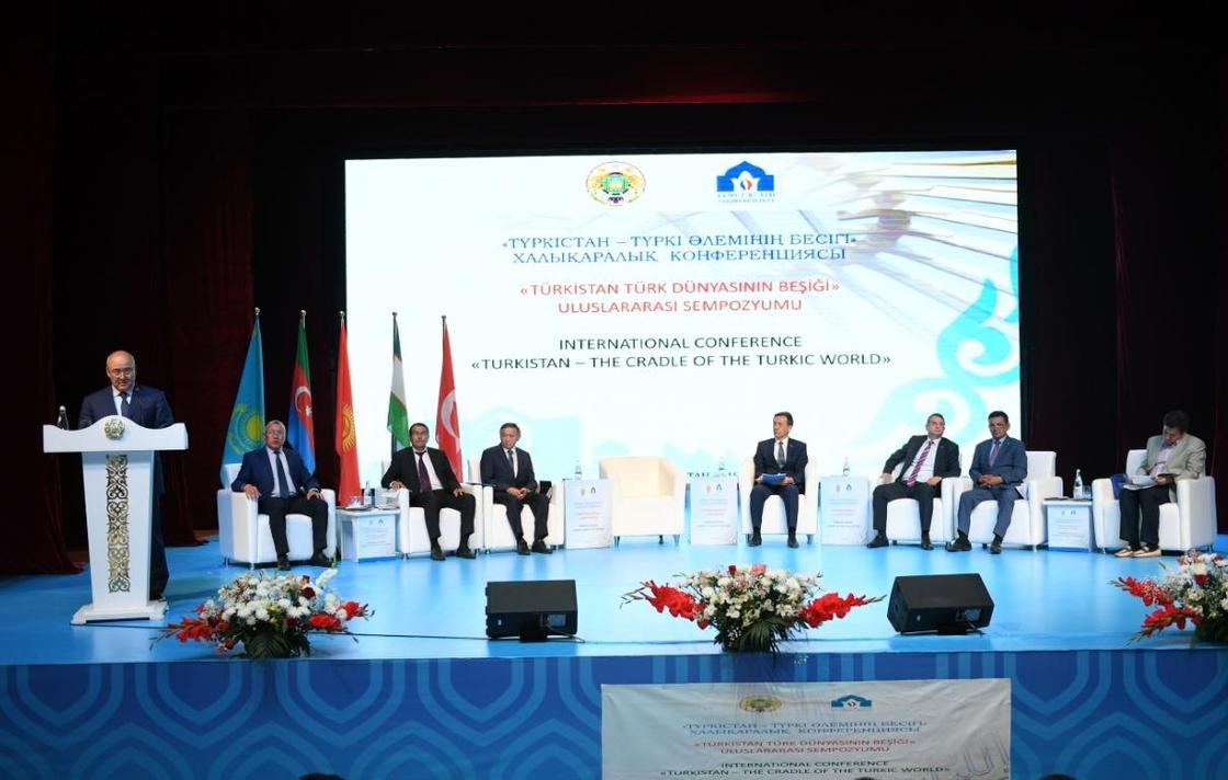 Түркістанда «Tүркістан –түркі әлемінің бесігі» атты халықаралық конференциясы өтті