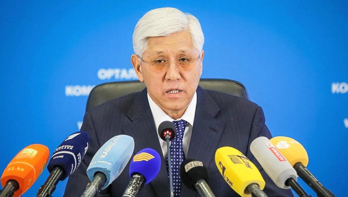 Амандық Баталов. Фото: zhetysu.gov.kz
