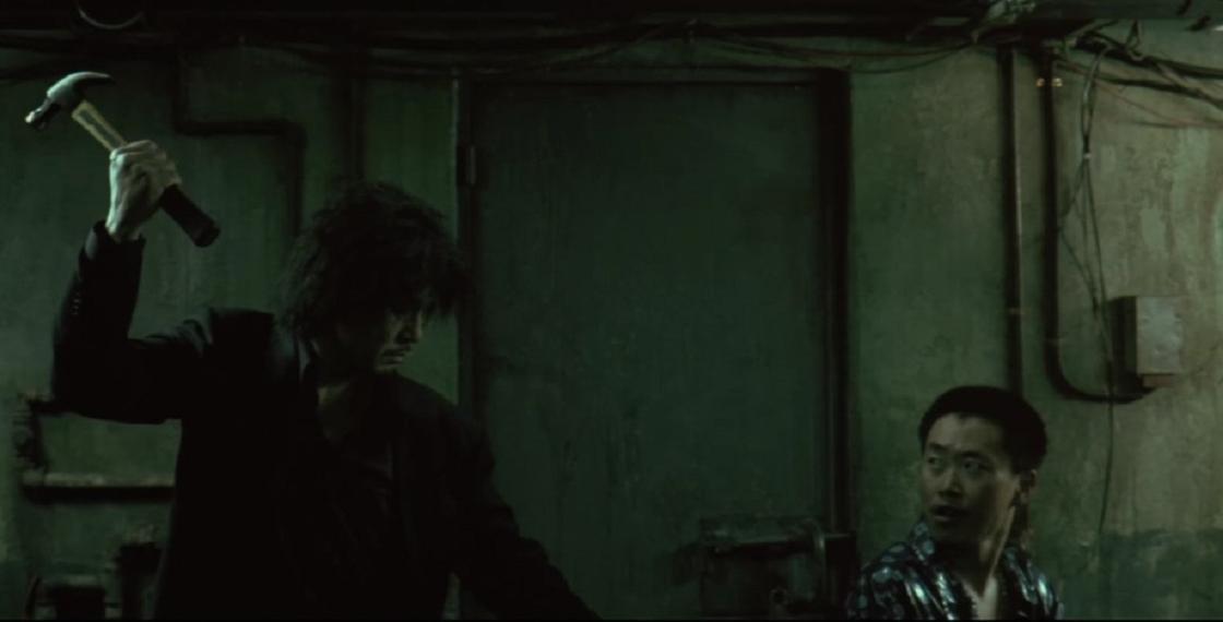 Кадр из фильма «Олдбой»