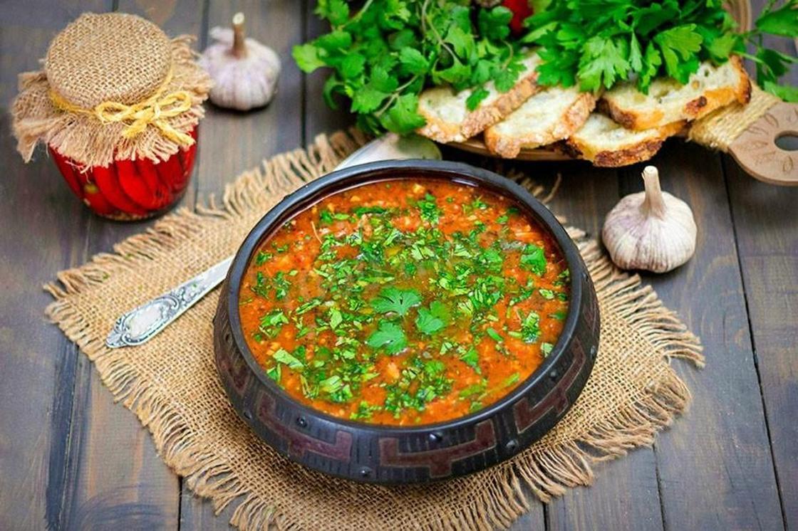Суп харчо: классический состав