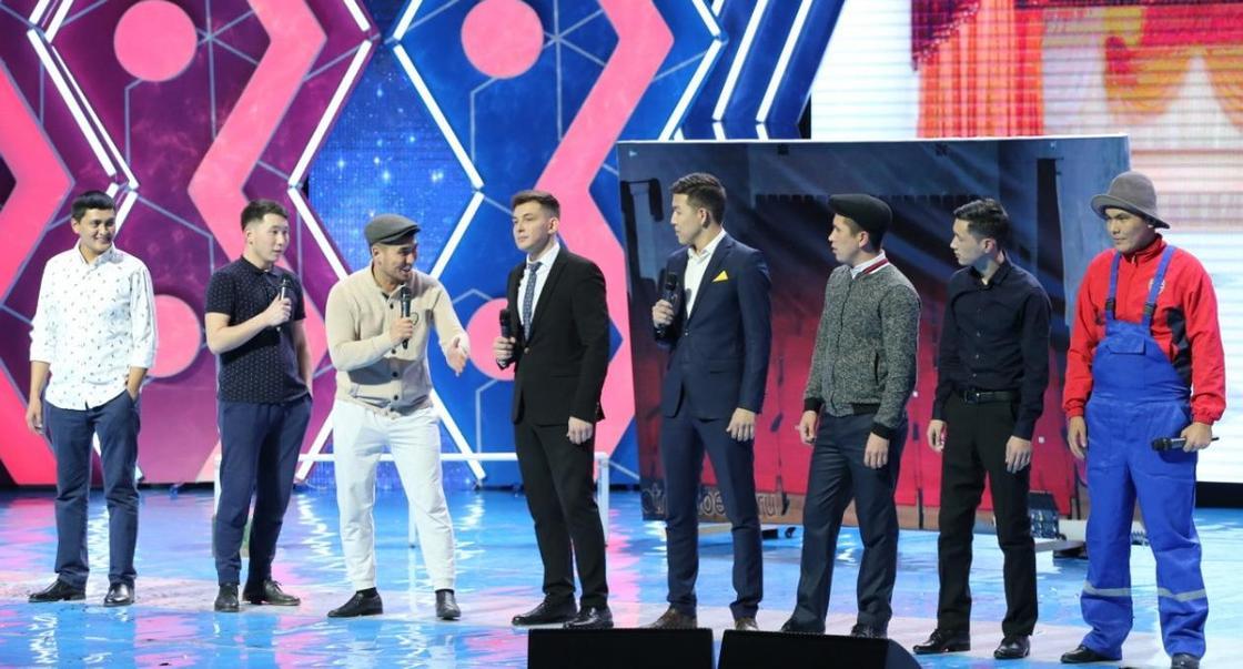 Шымкентские юмористы стали лучшими в финале «Жайдарман» (фото)