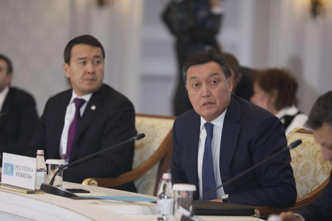Мамин рассказал об антикризисных мерах в Казахстане