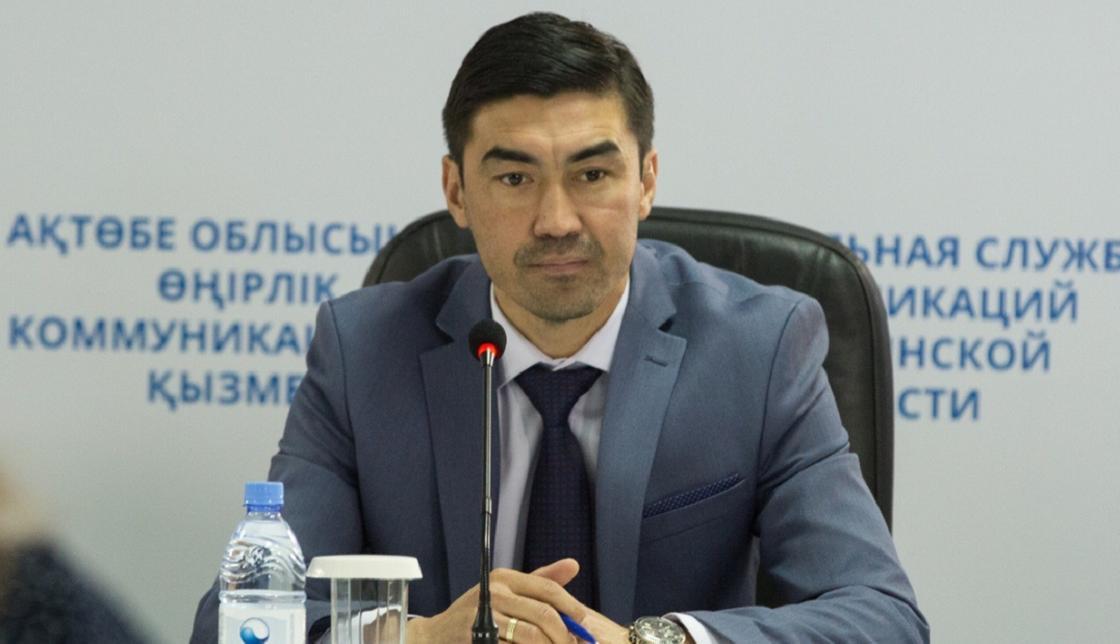 Самат Смаков стал советником акима Актюбинской области