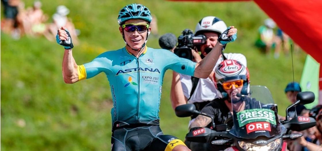 Мигель Анхель Лопес. Фото: Tour of Austria/EXPA