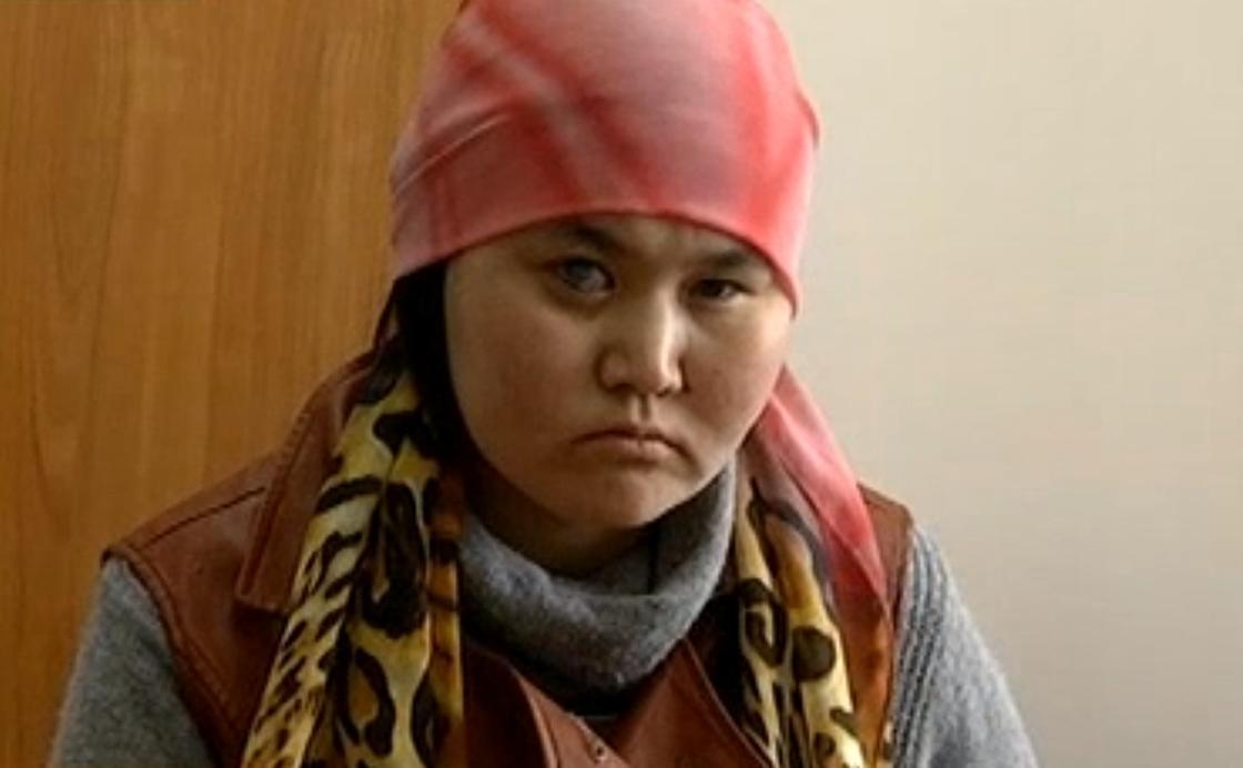 Алтынай Тұрсынова. Фото: КТК арнасынан кадр