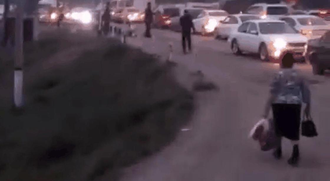 """""""Жена водителя кричала: """"Выходи!"""", но он сказал, что люди важнее"""""""