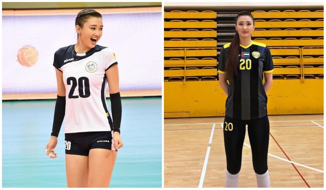 Одна из самых красивых спортсменок Казахстана уехала играть в арабский клуб