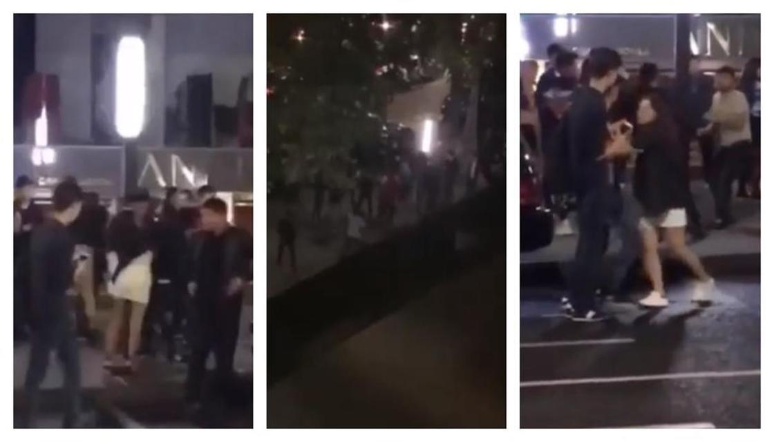 Массовую драку после концерта устроила молодежь в Алматы (видео)