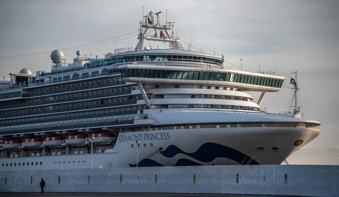 Круизный лайнер Diamond Princess. Фото: Carl Court / Staff / Getty Images
