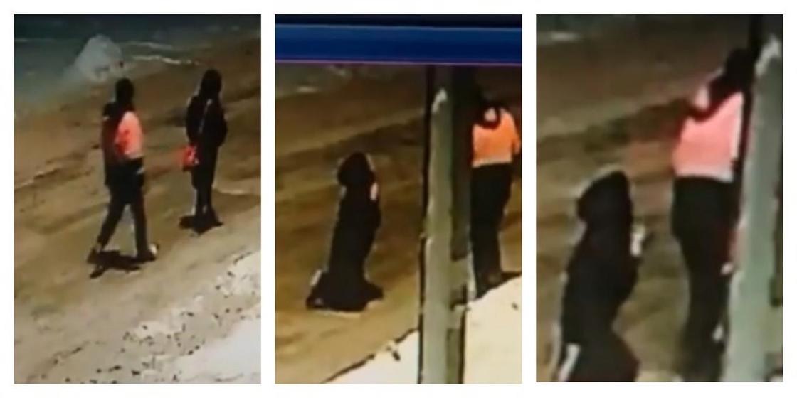 Опустил на колени: Мужчина жестко ограбил девушку в Астане (видео)