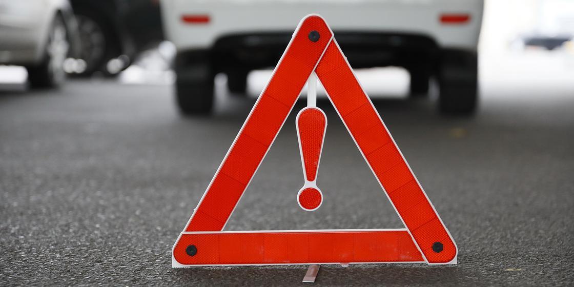 Нетрезвый водитель протаранил шесть автомобилей в Караганде