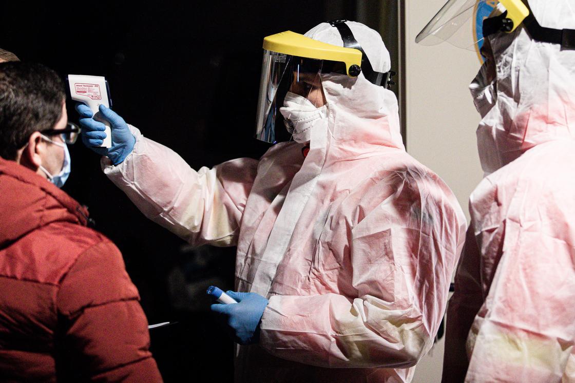 Когда коронавирусом в Казахстане заболеет наибольшее число людей