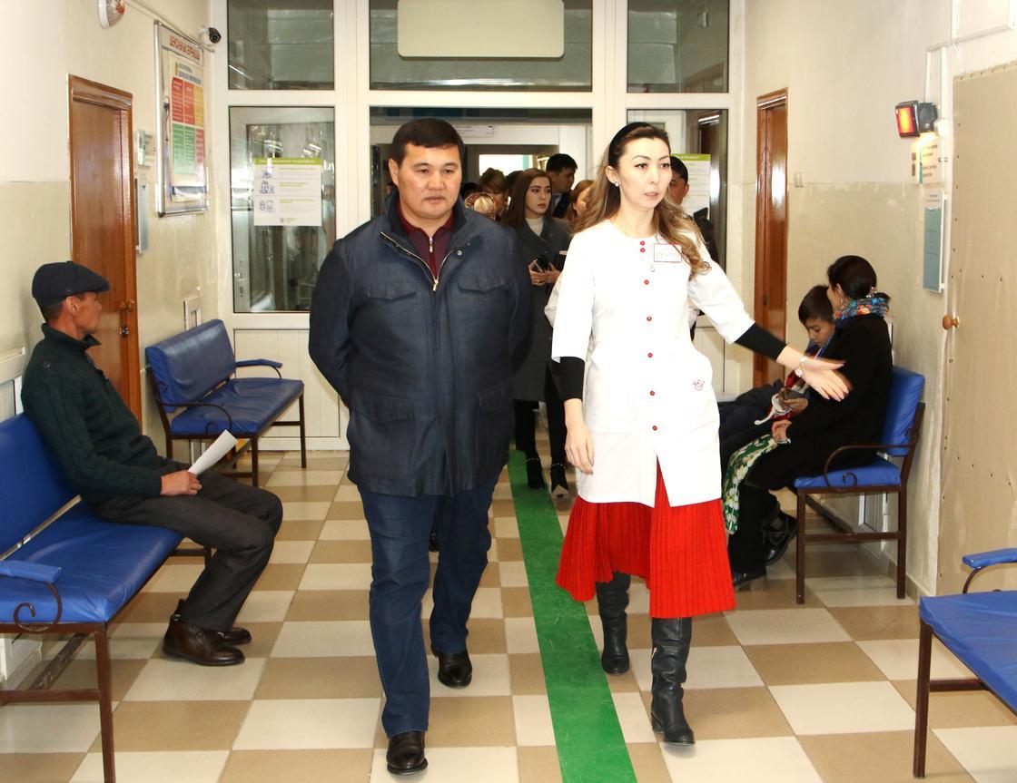 Қызылорда қаласының әкімі бірқатар әлеуметтік нысандардың жағдайымен танысты
