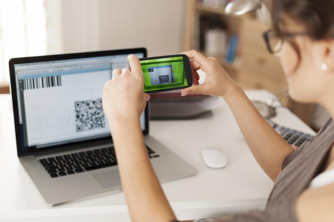 Оплата QR-кодом в интернете
