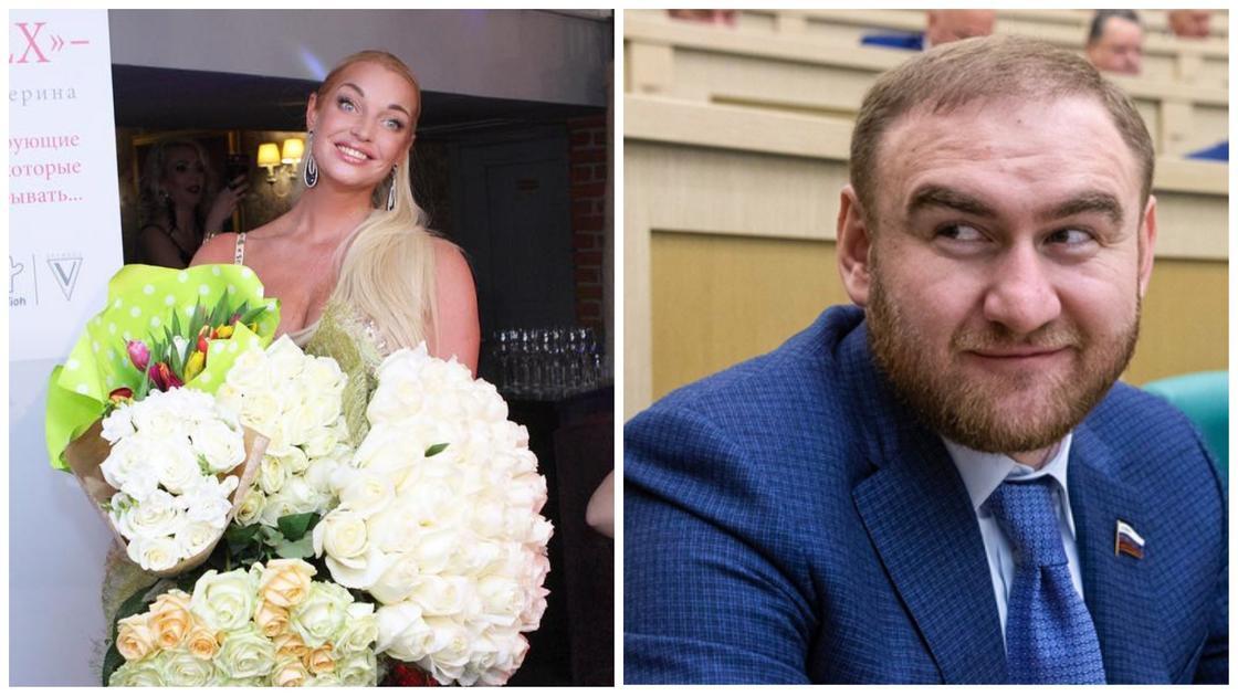 «Приглашал в местный банный комплекс»: Волочкова об арестованном политике Арашукове