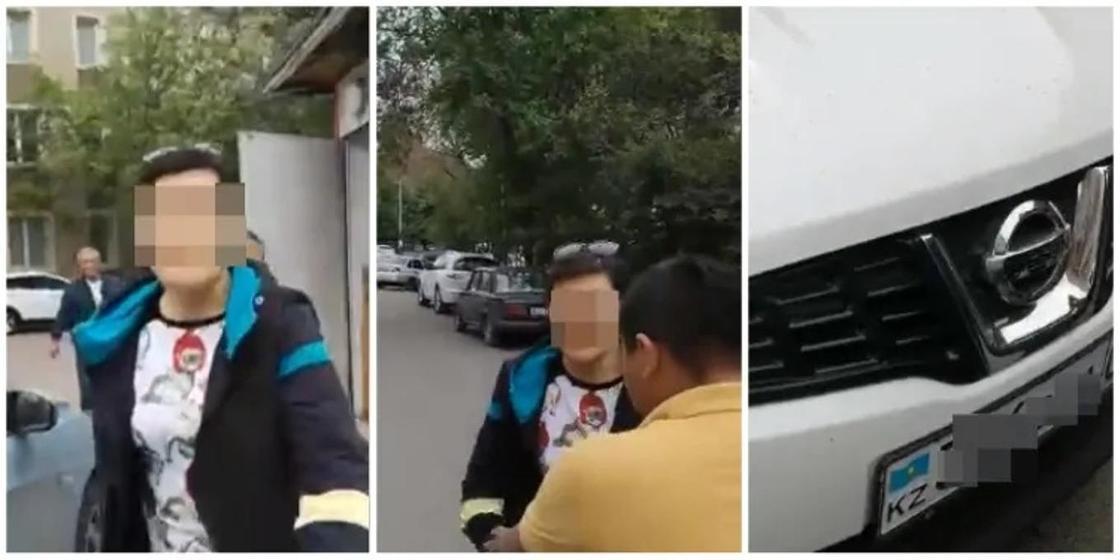 Не там припарковалась: избившую алматинку с ребенком автоледи осудили (видео)