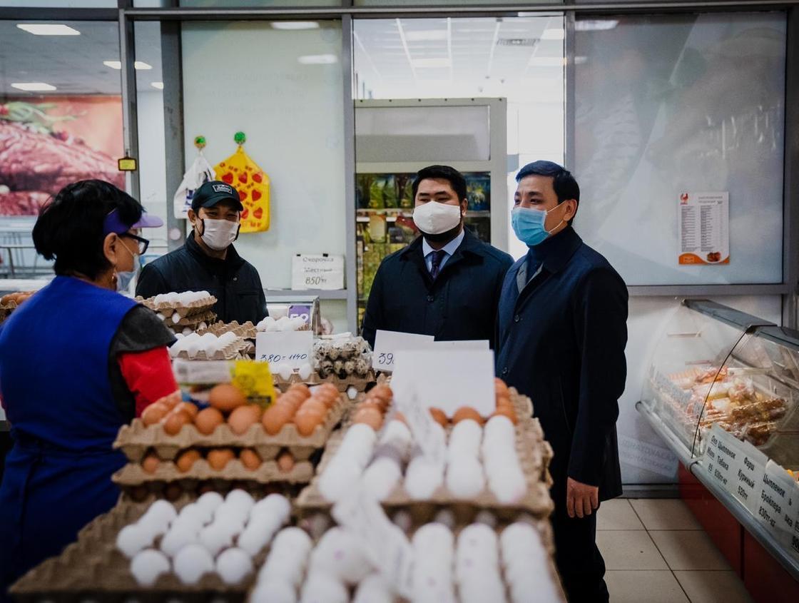 Ряд супермаркетов реализуют продукты без торговой наценки в Нур-Султане