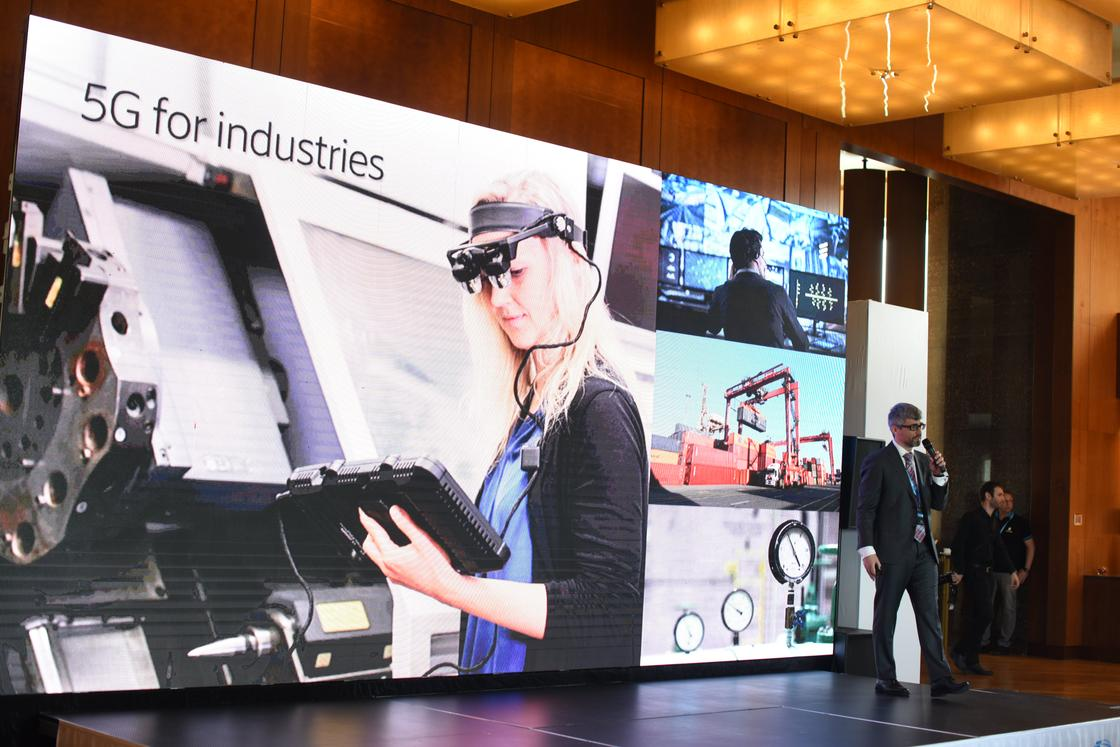 Алматинцам показали возможности технологии 5G