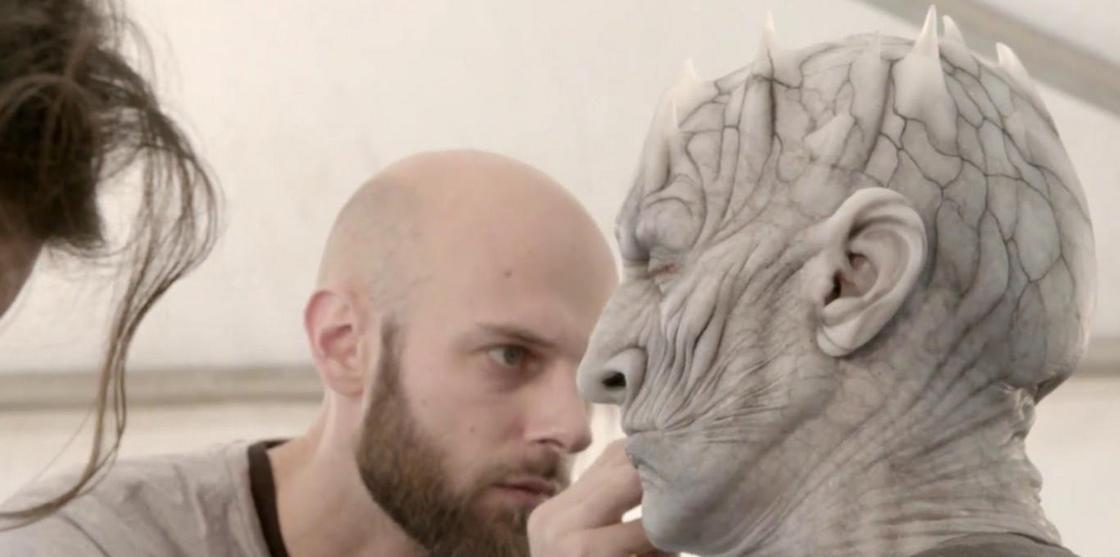 """Авторы """"Игры престолов"""" показали, как создавались Белые Ходоки"""