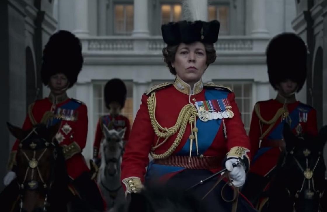 Оливия Колман в сериале «Корона»