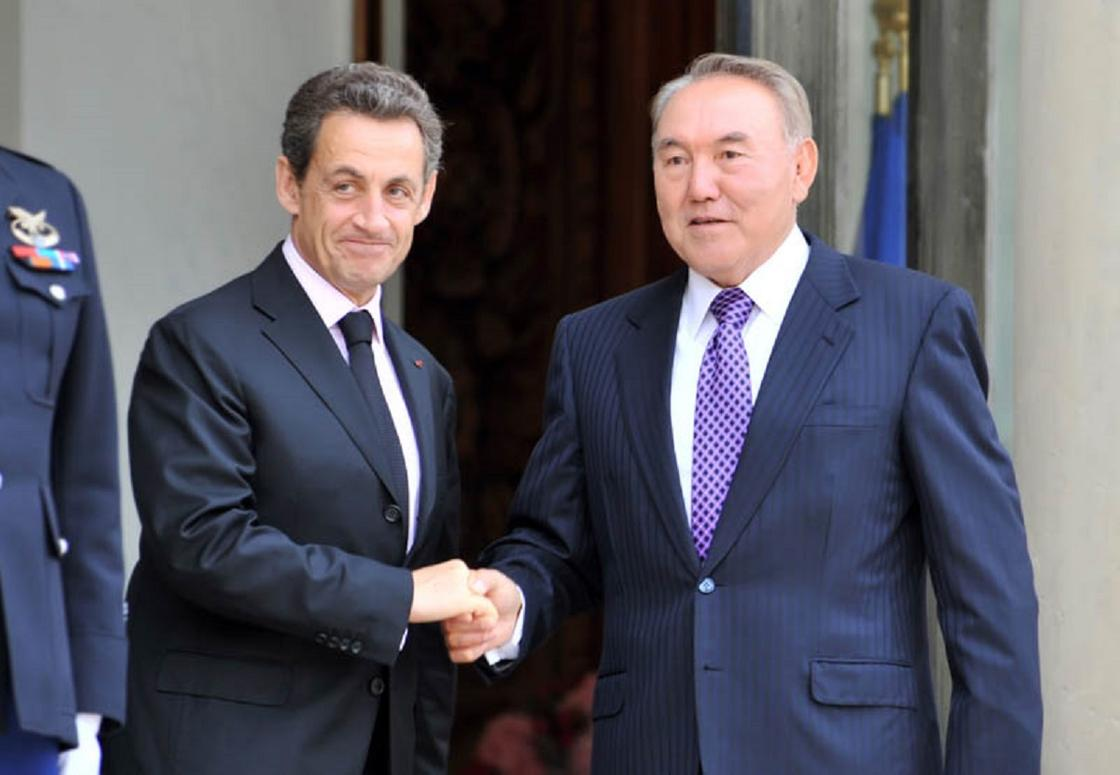 Николя Саркози поздравил Назарбаева с прошедшим юбилеем